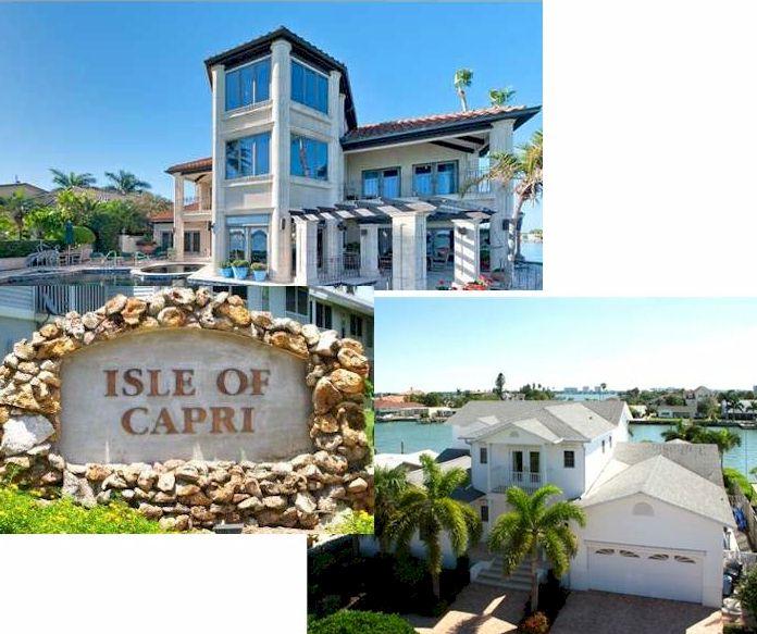 Isle Of Capri Treasure Island Fl Real Estate