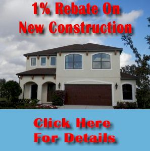 Get a 1% Rebate On Your New Home!